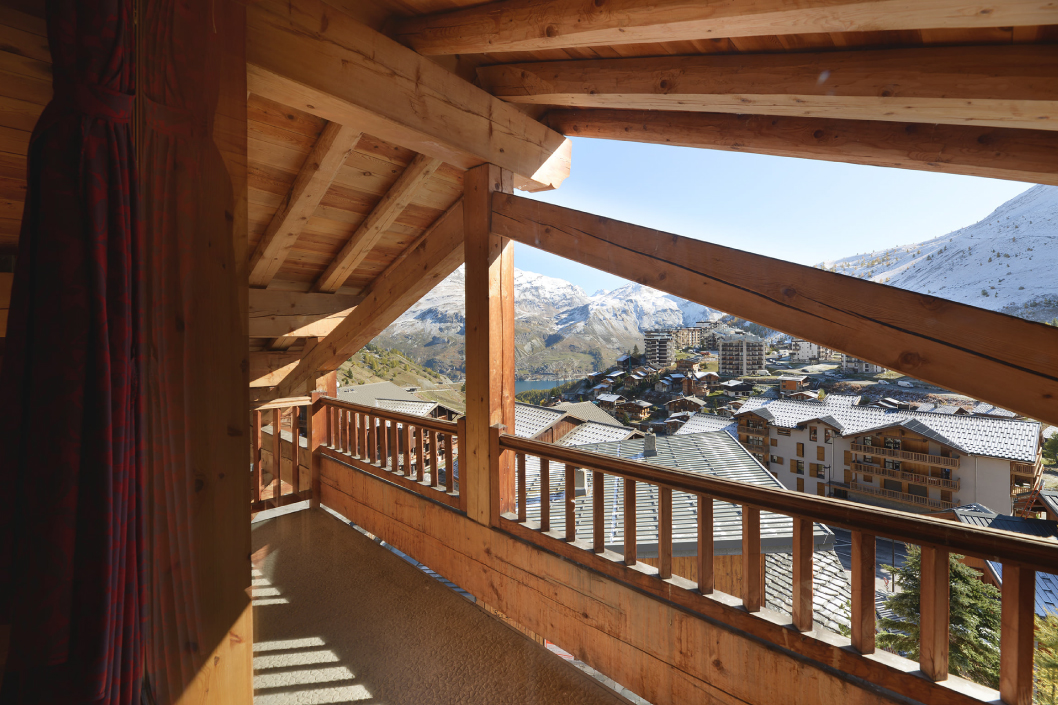 Chalet Tignes Andes Terasse